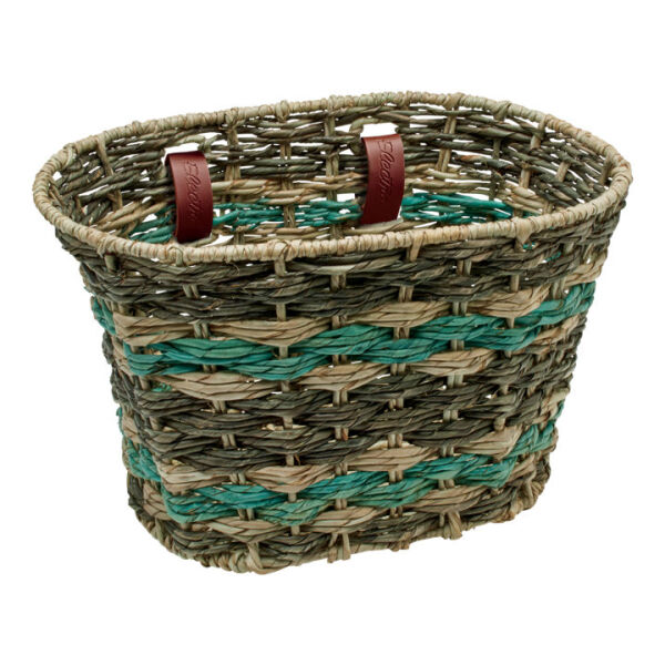 Electra Basket Elc Palm Frond Nat Asp Sea (541712)